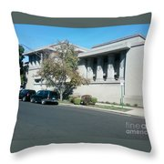 Unity Temple Throw Pillow