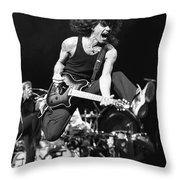Van Halen - Eddie Van Halen Throw Pillow