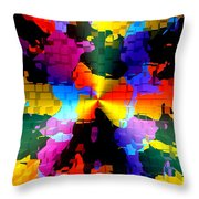 1000 Abstract Thought Throw Pillow