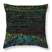 1000 Flowers On 1000 Steps Throw Pillow