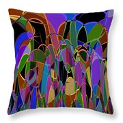1009 Abstract Thought Throw Pillow