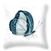 101 Perched Danis Danis Butterfly Throw Pillow