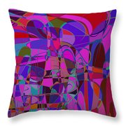 1016 Abstract Thought Throw Pillow