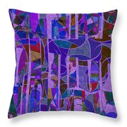 1022 Abstract Thought Throw Pillow