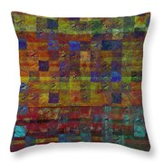 1030 Abstract Thought Throw Pillow