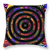 1043 Abstract Thought Throw Pillow