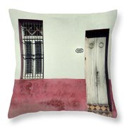 1062 Ebeneezer Goods Place.. Throw Pillow