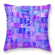 1065 Abstract Thought Throw Pillow