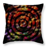 1066 Abstract Thought Throw Pillow