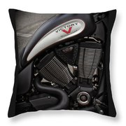 106ci V-twin Throw Pillow