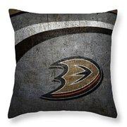 Anaheim Ducks Throw Pillow
