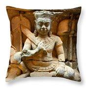 Angkor Thom Throw Pillow