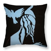 Baptism Of The Lord Jesus Throw Pillow
