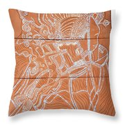 Bikira Maria Throw Pillow by Gloria Ssali