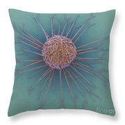 Cancer Cell Throw Pillow