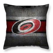 Carolina Hurricanes Throw Pillow