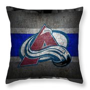 Colorado Avalanche Throw Pillow
