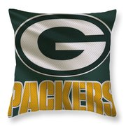 Green Bay Packers Uniform Throw Pillow