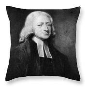 John Wesley (1703-1791) Throw Pillow