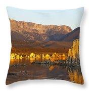 Mono Lake California Throw Pillow by Jason O Watson