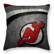 New Jersey Devils Throw Pillow