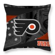 Philadelphia Flyers Throw Pillow