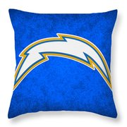 San Diego Chargers Throw Pillow