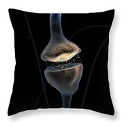 Synapse Throw Pillow