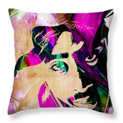 Tupac Collection Throw Pillow
