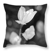 Garden Flora Throw Pillow