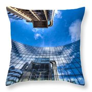 Willis Group And Lloyd's Of London Throw Pillow