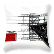 110 People Max Throw Pillow
