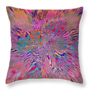 1106 Abstract Thought Throw Pillow