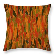 1114 Abstract Thought Throw Pillow