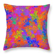 1115 Abstract Thought Throw Pillow
