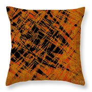 1126 Abstract Thought Throw Pillow