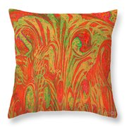 1133 Abstract Thought Throw Pillow