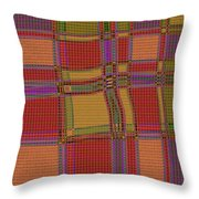 1137 Abstract Thought Throw Pillow