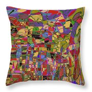 1144 Abstract Thought Throw Pillow