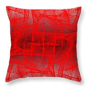 1162 Abstract Thought Throw Pillow