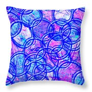 1166 Abstract Thought Throw Pillow