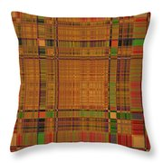 1190 Abstract Thought Throw Pillow