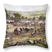 Civil War Gettysburg Throw Pillow