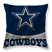 Dallas Cowboys Uniform Throw Pillow