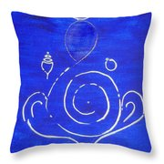 16 Ganesh Throw Pillow