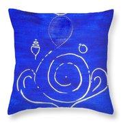 16 Ganesh Throw Pillow