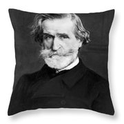 Giuseppe Verdi (1813-1901) Throw Pillow