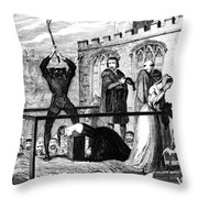 Lady Jane Grey (1537-1554) Throw Pillow