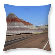 Painted Desert Throw Pillow