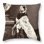 Queen Victoria (1819-1901) Throw Pillow